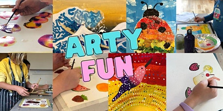 Art Workshop for Kids/2 Day (13th/14th April) / Age 7-11 / 10am-2pm tickets