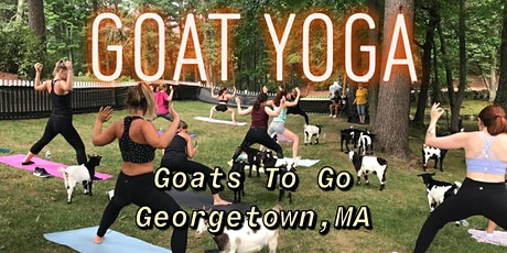 Charity Goat Yoga (MSPCA at Nevins Farm) tickets