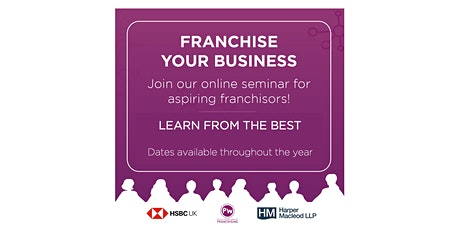 FRANCHISE YOUR BUSINESS tickets