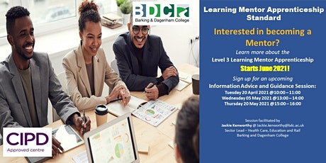 Learning Mentor Apprenticeship Information Session tickets