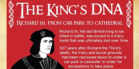 The King's DNA: Cardiff Hubs & Libraries' Open Space tickets