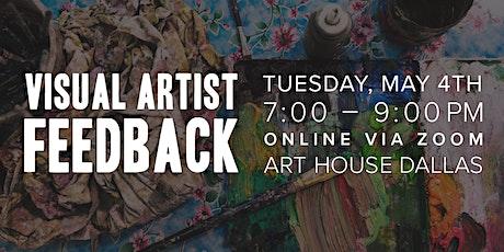 Visual Artist Feedback (Online Gathering) tickets