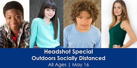Headshot Special - Outdoors and Socially Distanced tickets