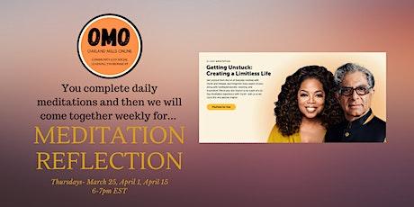 OMO Meditation Reflection tickets