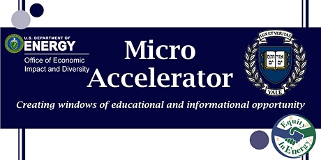 Micro Accelerator:  Information Sessions Featuring Yale tickets