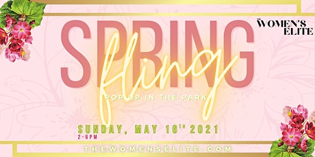 Spring Fling Pop Up in the Park tickets