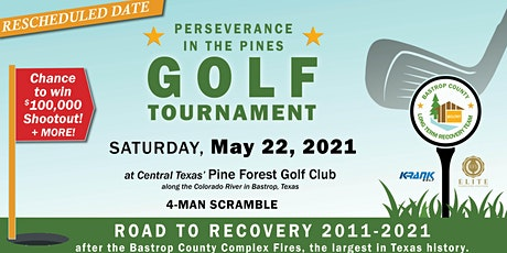 Perseverance in the Pines - Golf Tournament tickets