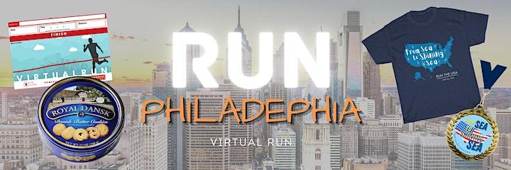 Run Philadelphia HYBRID 5K/10K/Half-Marathon 2021 image