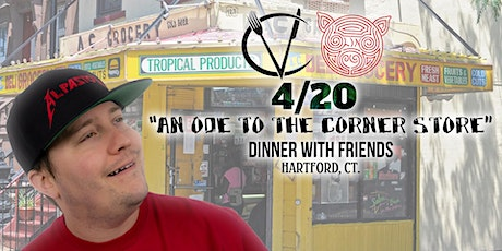 4/20 Dinner With  The Vulgar Chef & Freinds tickets