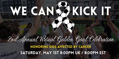 UK - 2nd Annual Virtual Golden Goal Celebration tickets