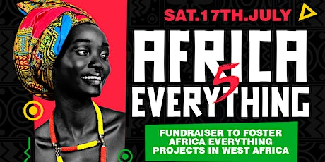 Africa Everything 5 Afrobeats African Zoom Party  Fundraiser tickets