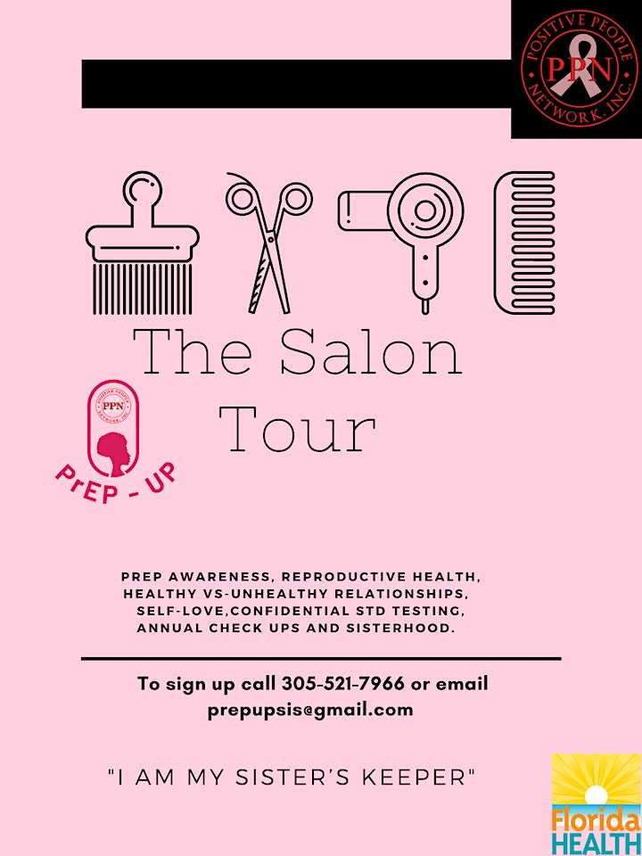 SIP  And CHAT  PrEP -Up SiS Event @ Hair By Nikki & Styling Team image