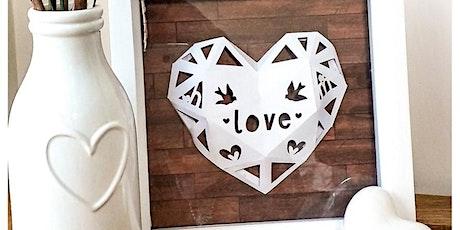 Kirigami Paper Hearts - Paper Cutting Workshop tickets