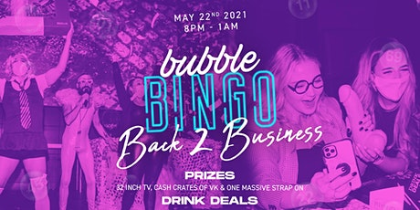 Bubble Bingo Back 2 Business tickets