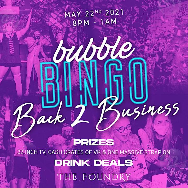 Bubble Bingo Back 2 Business image