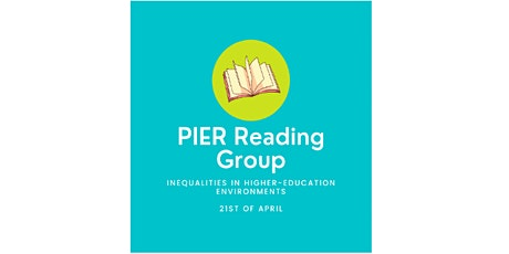 PIER Reading Group tickets