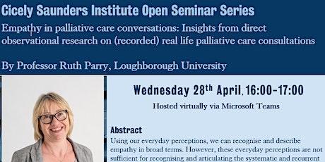 CSI Seminar Series: Professor Ruth Parry tickets