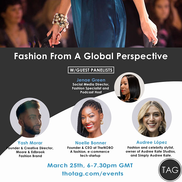 Fashion Panel: Fashion From A Global Perspective image