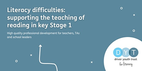 Literacy difficulties: supporting the teaching of reading in key stage 1 tickets