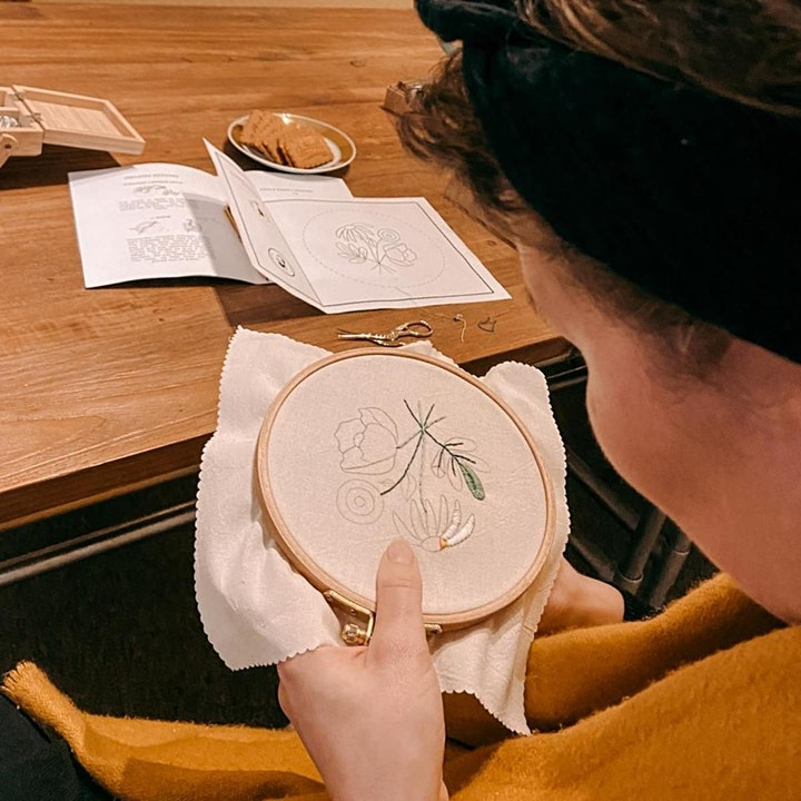 Explore Embroidery Masterclass - Workshop in Berlin: Bild