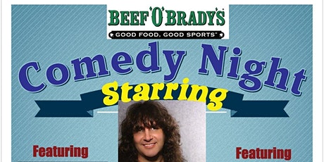 Beef'O'Brady's Comedy Night tickets