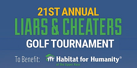 2021 Annual Liars & Cheaters Golf Tournament tickets
