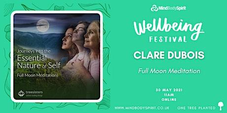 Clare Dubois - Full Moon Meditation tickets