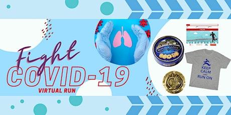 FIGHT COVID-19 Virtual Race 2021 tickets