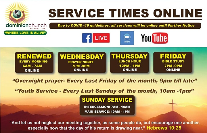 DCI-TO: REGISTER FOR OUR SUNDAY SERVICE image