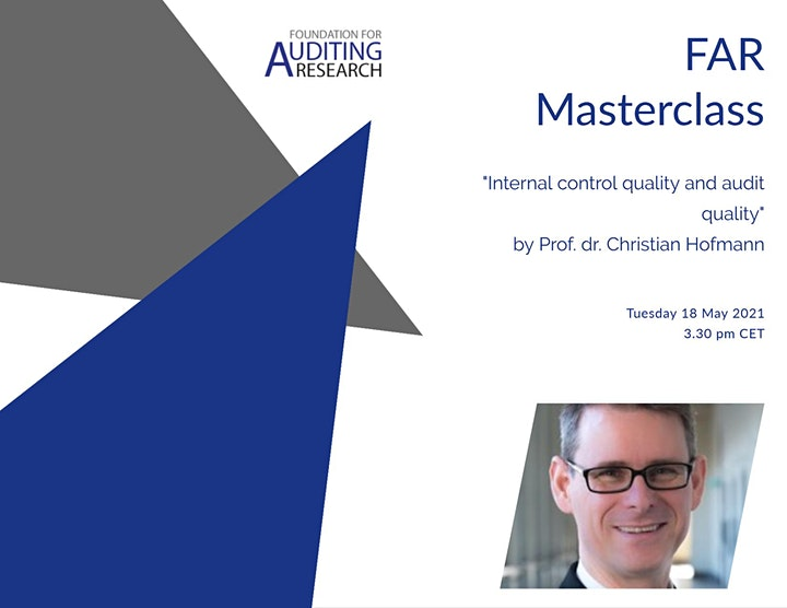 Online FAR Masterclass by Prof. dr. Christian Hofmann image