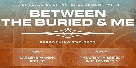 Between The Buried & Me - An Evening With - NEW DATE tickets