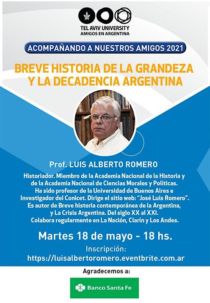 Imagen de Prof. LUIS ALBERTO ROMERO