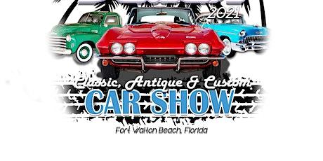 Cruisin The Beaches Car Show tickets
