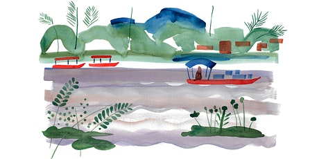 Watercolour Landscapes: Mekong River (online class) tickets