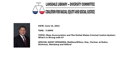 Mass Incarceration and The US Criminal Justice System What's Wrong With it? tickets