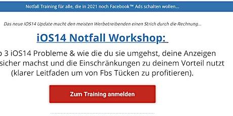Facebook Werbung / Ads schalten - Gratis Training auch für Anfänger Tickets