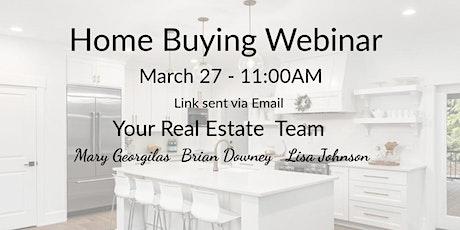 Home Buying Webinar tickets
