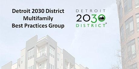 Detroit 2030 Multifamily Best Practices Group entradas