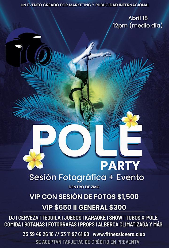 Imagen de POLE PARTY: Conoce el Pole Fitness + DJ + Alberca + Cerveza + Tequila +