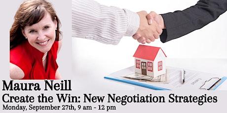 Create the Win: New Negotiation Strategies billets