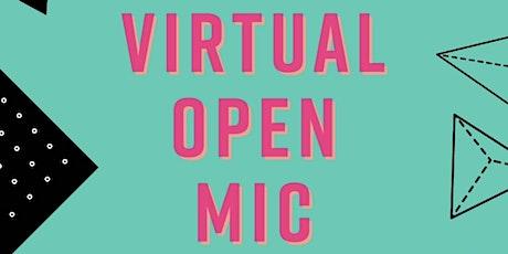 FishFood Mag's Virtual Open Mic tickets