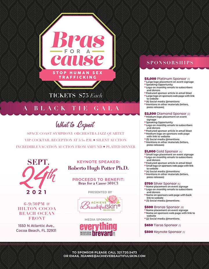 8TH ANNUAL BRAS FOR A CAUSE image