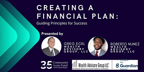 Creating a Financial Plan: Guiding Principles for Success tickets
