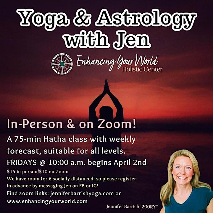 Yoga & Astrology with Jen image