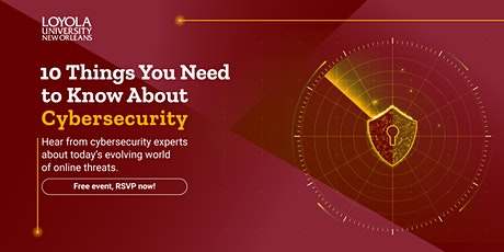 10 Things You Need to Know About Cybersecurity | Panel tickets