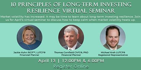 10 Principles of Long-Term Investing Resilience Webinar Evening Session tickets