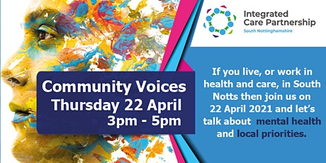 South Nottinghamshire Community Voices - mental health focus tickets