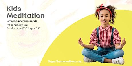 Kids Meditation Brooklyn Meditation tickets