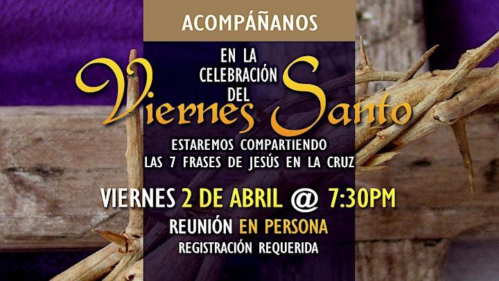Good Friday Service   Servicio de Viernes Santo image