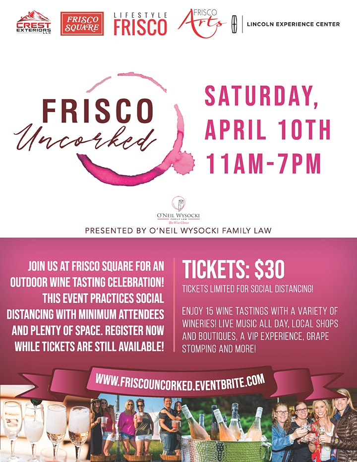 2nd Annual Frisco Uncorked image